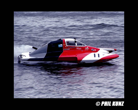 Current Inboard Hydroplane classes